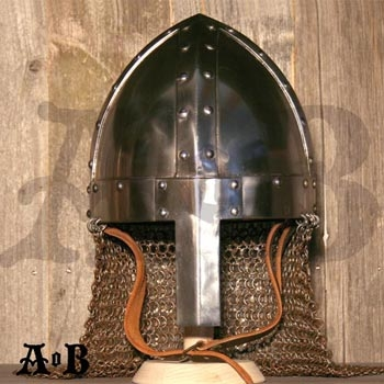 Spangenhelm with mail Size L