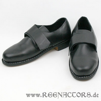 reenactors 18 jahrhundert herren schuhe 39 glatt. Black Bedroom Furniture Sets. Home Design Ideas