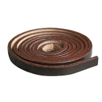 Leather Belt Strip Dark Brown 10mm - 165cm