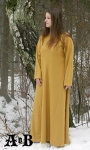 Woman´s Dress - dark yellow