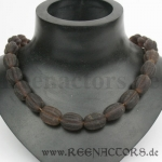 Melon Beads brown - Strand