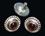 Belt Mount Red Glass 15th c.