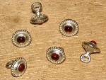 Pewter Buttons 1230 - 1260
