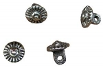 Pewter Buttons 1200 - 1450, 12mm
