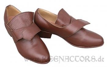 5c4a57e91a43 Reenactors Shop - 18 Jahrhundert Damen Schuhe 37 braun Barock Rokoko ...