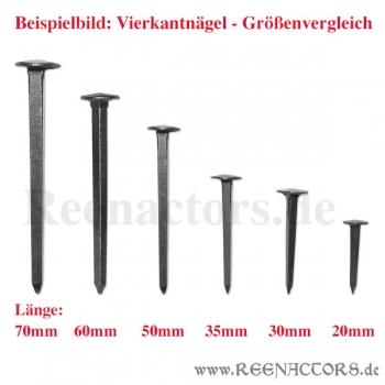 Reenactors Shop - Geschmiedete Nu00e4gel - 70mm - Fu00fcr Schildbau / Mu00f6belbau   Reenactors.de