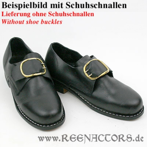 reenactors shop 18 jahrhundert herren schuhe 39 glatt. Black Bedroom Furniture Sets. Home Design Ideas